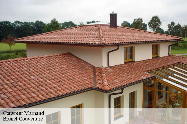 Couvreur  marnand-1524 Brunet Couverture